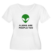 Aliens r People 2 T-Shirt