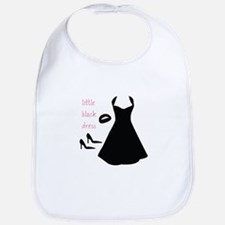 Little Black Dress Bib