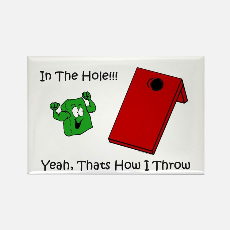 In The Hole Rectangle Magnet