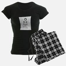 Vision Chart Pajamas