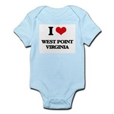 I love West Point Virginia Body Suit