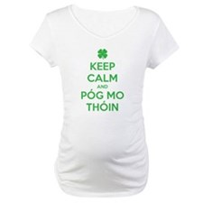 Keep Calm and Póg Mo Thóin Shirt