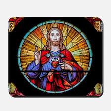 Sacred Heart de Santa Ifigênia Mousepad