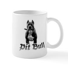 pit bull Small Mugs