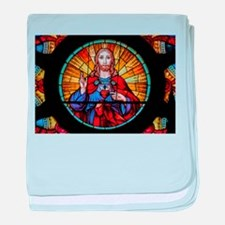 Sacred Heart de Santa Ifigênia baby blanket