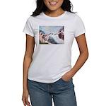 Creation / Fawn Pug Women's T-Shirt