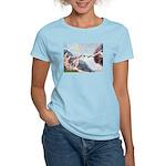Creation / Fawn Pug Women's Light T-Shirt