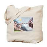 Creation / Fawn Pug Tote Bag