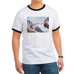 Creation / Fawn Pug Ringer T