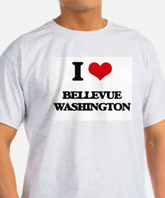 I love Bellevue Washington T-Shirt