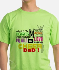 Cheer Words Dad T-Shirt