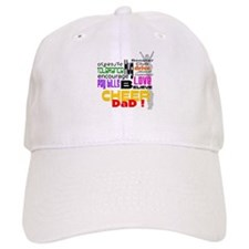 Cheer Words Dad Baseball Cap