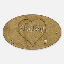 Shelby Beach Love Decal