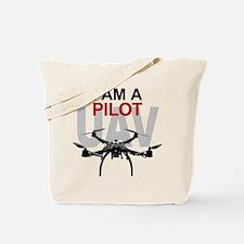 UAV Quadpilot Quadcopter Pilot Tote Bag