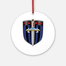 Bdsm Sheild Ornament (round)
