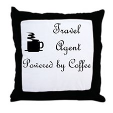 Travel Agent Throw Pillow