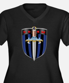 BDSM Sheild Plus Size T-Shirt
