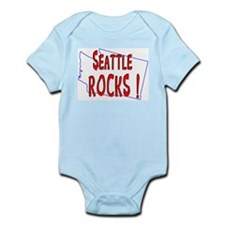 Seattle Rocks ! Infant Bodysuit