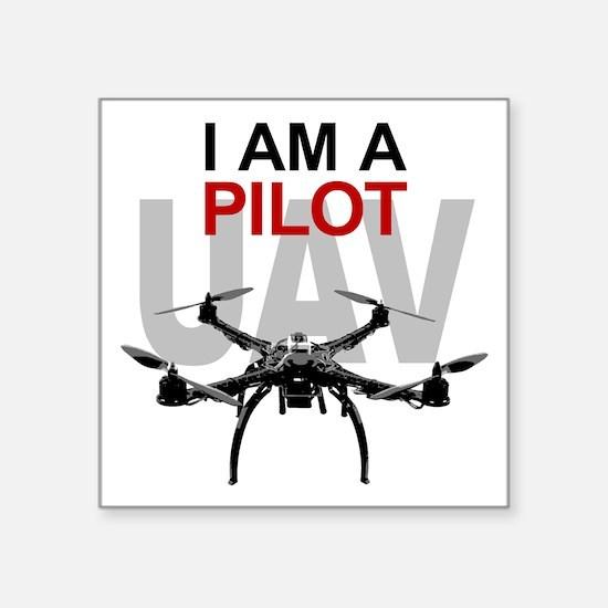 UAV Quadpilot Quadcopter Pilot Sticker