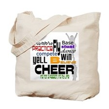 Cheer Words 2 Tote Bag