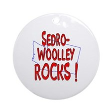 Sedro-Woolley Rocks ! Ornament (Round)