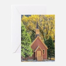Little Chapel in the Woods Greeting Card