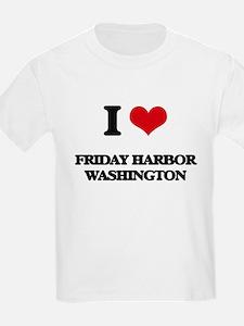 I love Friday Harbor Washington T-Shirt
