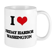 I love Friday Harbor Washington Mugs