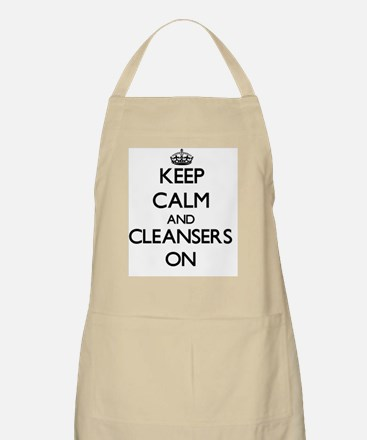 Keep Calm and Cleansers ON Apron