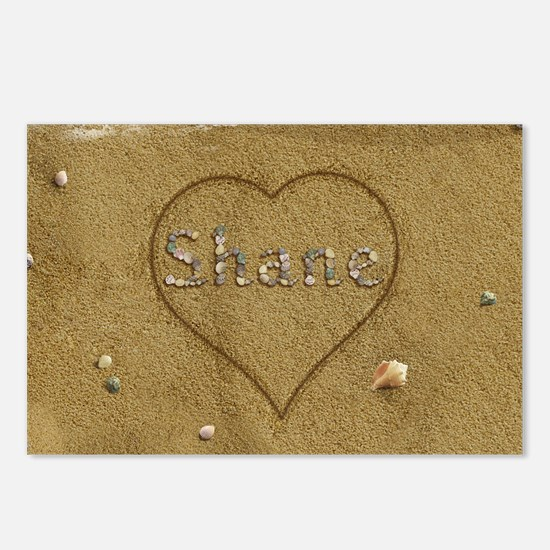 Shane Beach Love Postcards (Package of 8)