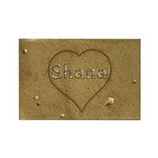 Shana Beach Love Rectangle Magnet (100 pack)