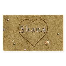 Shana Beach Love Decal