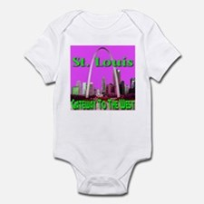 St. Louis Gateway To The West Infant Bodysuit