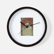 Frederic Chopin memorial Wall Clock