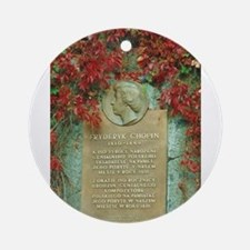 Frederic Chopin memorial Ornament (Round)