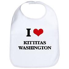 I love Kittitas Washington Bib