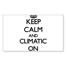 Keep Calm and Climatic ON Decal
