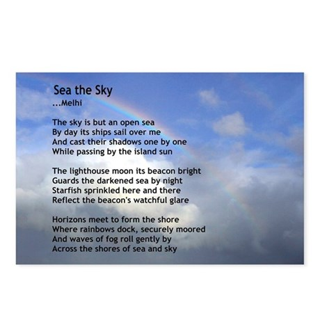 Sea the Sky Postcards (Package of 8)
