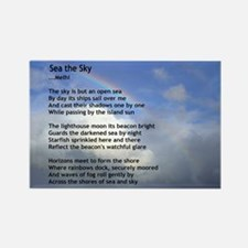 Sea the Sky Rectangle Magnet
