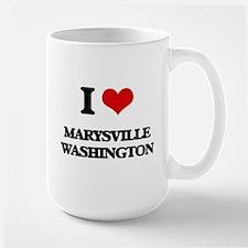 I love Marysville Washington Mugs
