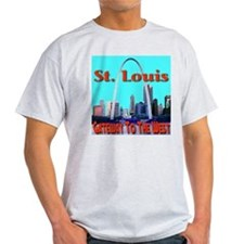St. Louis Gateway To The West T-Shirt