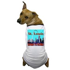 St. Louis Gateway To The West Dog T-Shirt