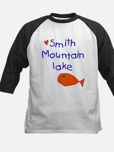 Boy - Smith Mountain Lake, Smith M Baseball Jersey