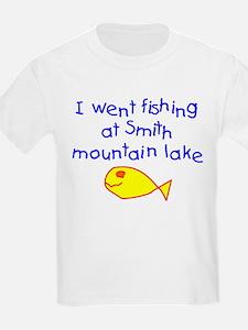 Boy - Fishing Smith Mountain Lake T-Shirt