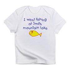 Boy - Fishing Smith Mountain Lake Infant T-Shirt