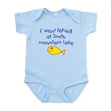 Boy - Fishing Smith Mountain Lake Body Suit