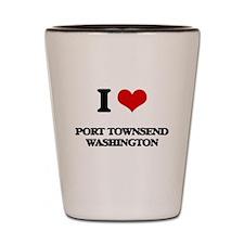 I love Port Townsend Washington Shot Glass