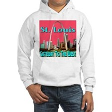 St. Louis Gateway To The West Jumper Hoodie