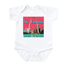 St. Louis Gateway To The West Infant Bodysuit
