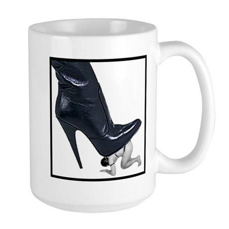 Giant Boot Stomp Large Mug